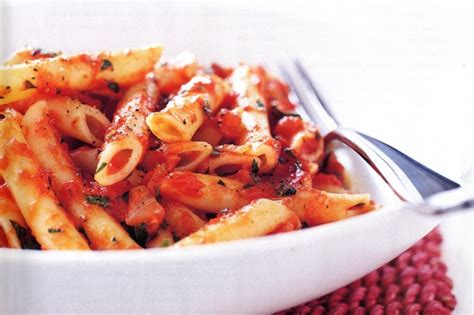 tomato pasta recipe pasta with simple tomato sauce recipe taste au