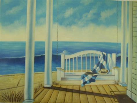 36x48 painting porch swing large oversize