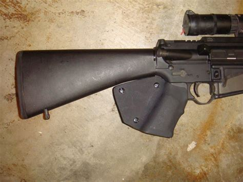 featureless ar 15 rifle: grips, stocks, and muzzle devices