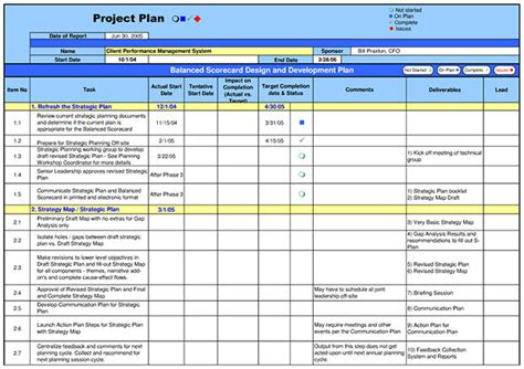 project plan layout exle 5 best project plan templates free premium templates