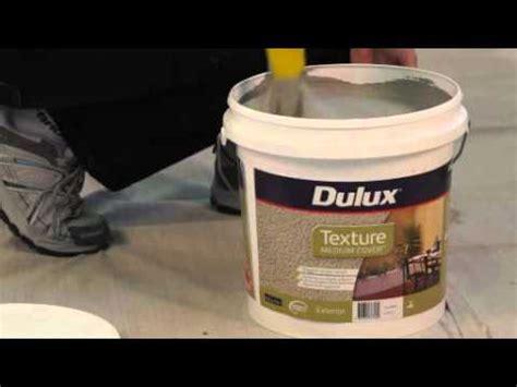 Make Textured Paint - dulux texture render refresh medium cover youtube