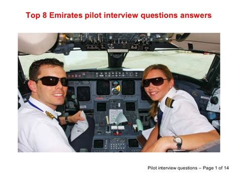 top 8 emirates pilot questions answers
