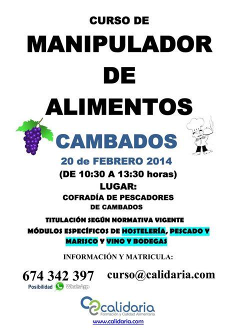 de febrero de 2014 cofrad 237 a de pescadores concello de cambados curso de