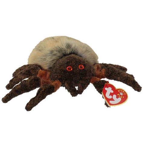 ty beanie baby hairy  spider   bbtoystorecom