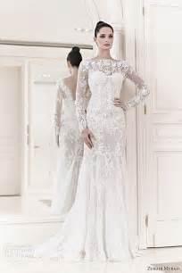 long sleeves lace bridal dresses ideas designers