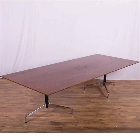 Vitra Boardroom Table Vitra Eames Walnut 3000x1200 Boardroom Table