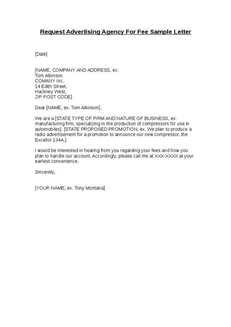 cover letter for advertising agency fast help request letter for bank credit facility