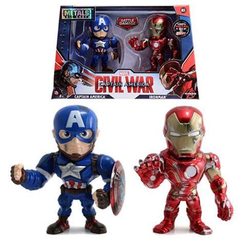 Figure Iron Captain America captain america civil war cap vs iron metals figures