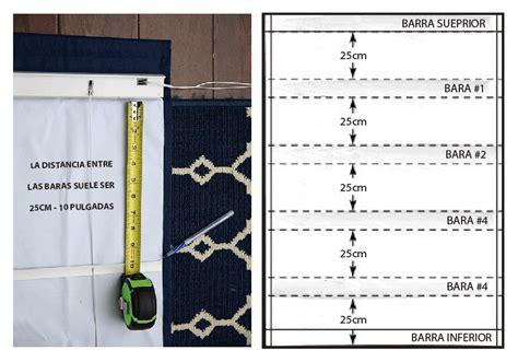 como coser cortinas c 243 mo hacer cortinas romanas trapitos ar blog