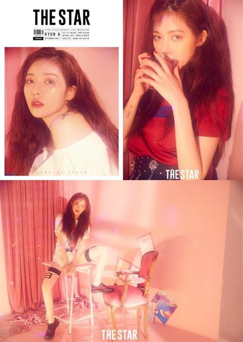 Model Rambut Hyuna 4minute by Tak Usung Konsep Pose Hyuna Ini Tetap Bikin