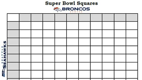 super bowl squares 2014 template rules and more