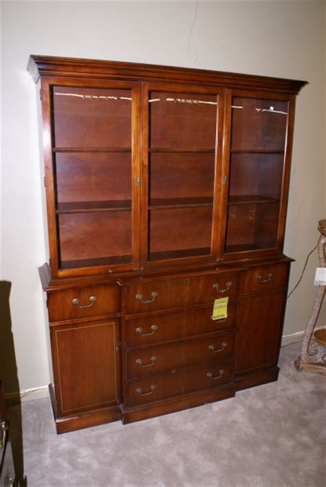 Another mahogany breakfront secretary desk For Sale   Antiques.com   Classifieds