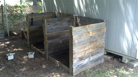 how not to build a compost bin summers acres