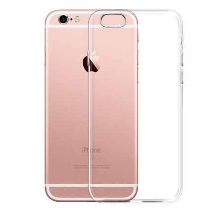 Softcase Ultrathin List Chrome Apple Iphone 6 6s 4 7 In Diskon aliexpress buy esamday ultra thin soft tpu gel original transparent for iphone 6 6s 7