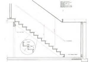 treppe schnitt stair