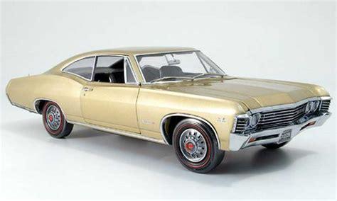 Diecast Greenlight 1967 Chevrolet Impala Ss Skala 1 64 Seri Route 6 chevrolet impala 1967 ss or ertl diecast model car 1 18