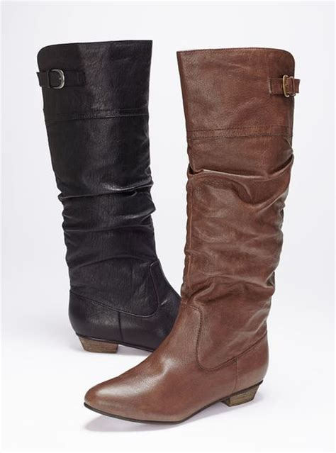 victorias secret boots s secret craave scrunched boot in brown black