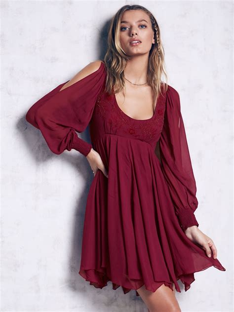 free people swing tatiana swing dress at free people clothing boutique
