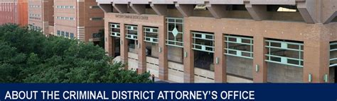 Tarrant County Criminal Background Check Criminal District Attorney