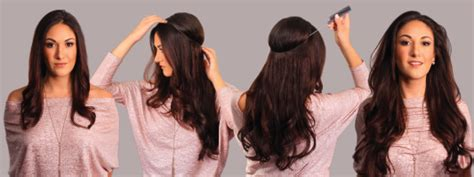 how so i put an halo extension in a ponytail halo flip in extensions remy echthaar secret hair