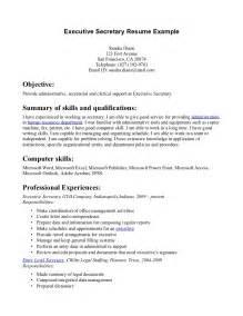 Download Resume For Secretary   haadyaooverbayresort.com