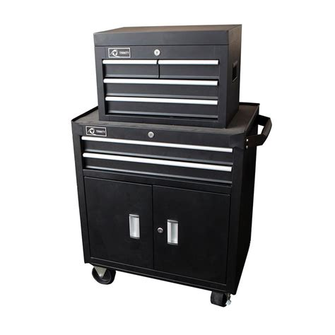 26 in 6 drawer tool chest black tls 0405 the