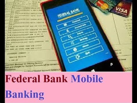 federal bank mobile banking federal bank mobile banking