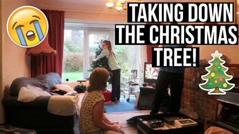 taking down the christmas tree youtube