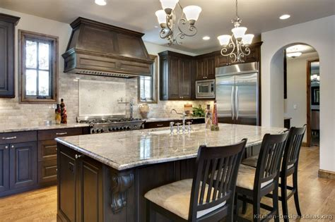 dark wood kitchen ideas pictures of kitchens traditional dark wood kitchens walnut color page 3