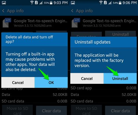 disable app android how to disable android apps ubergizmo