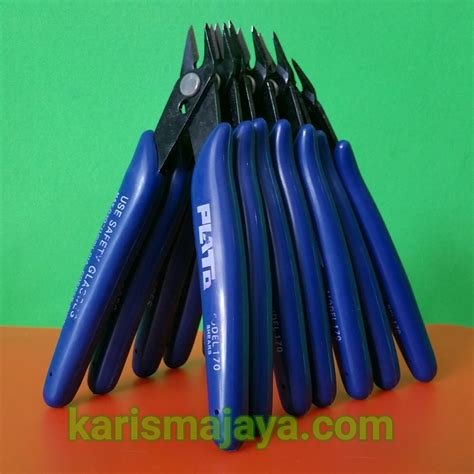 Plato 5 Wire Cutter Tang Potong Kawat Coil Not Ud Coil Master 7 tang potong plato 5 karisma jaya