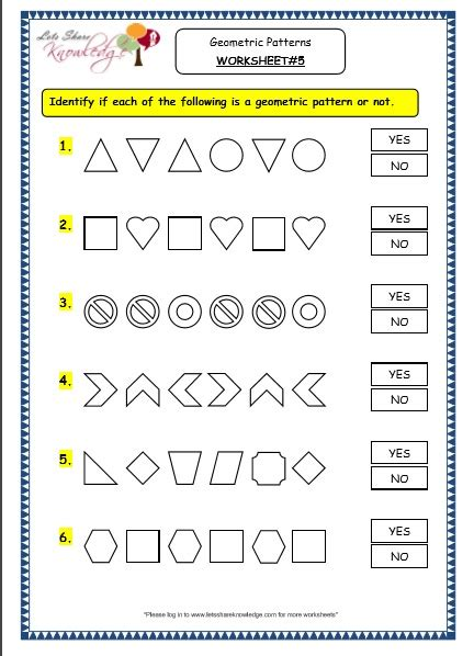 geometric pattern worksheets grade 3 maths worksheets 14 9 geometry geometric