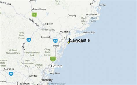newcastle australia map newcastle weather station record historical weather for