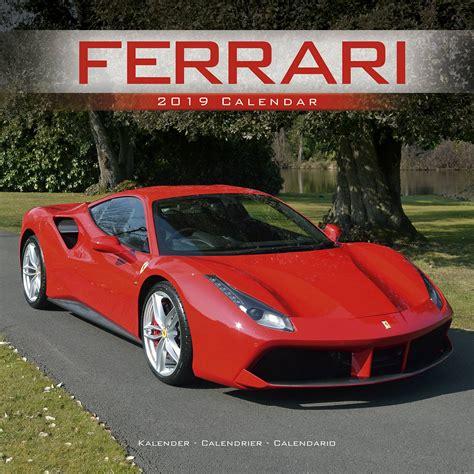 Ferrari Kalender by Ferrari Calendar Vehicle Calendars Megacalendars