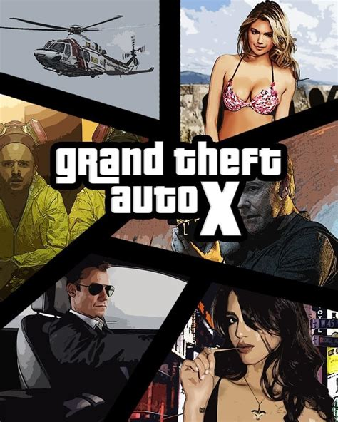 Poster San Andreas Alternate Textless 20x30cm how to make a grand theft auto gta cover style 171 photoshop wonderhowto