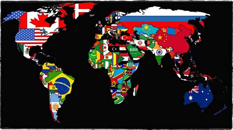 flags of the world background maps world flags wallbase nations walldevil