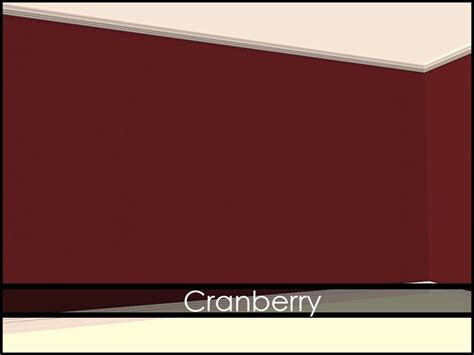 cranberry wall paint