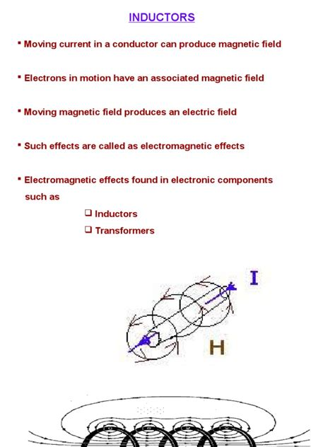 types of inductance ppt inductor ppt inductor