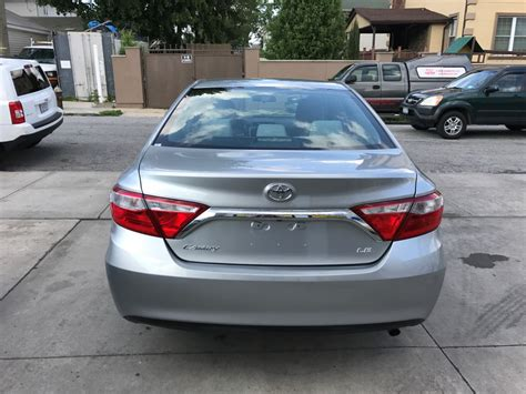 Toyota Camry For Sale Used Used 2016 Toyota Camry Le Sedan 12 990 00