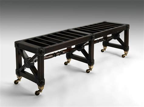 luggage bench m229 regency luggage bench fine bespoke custom built