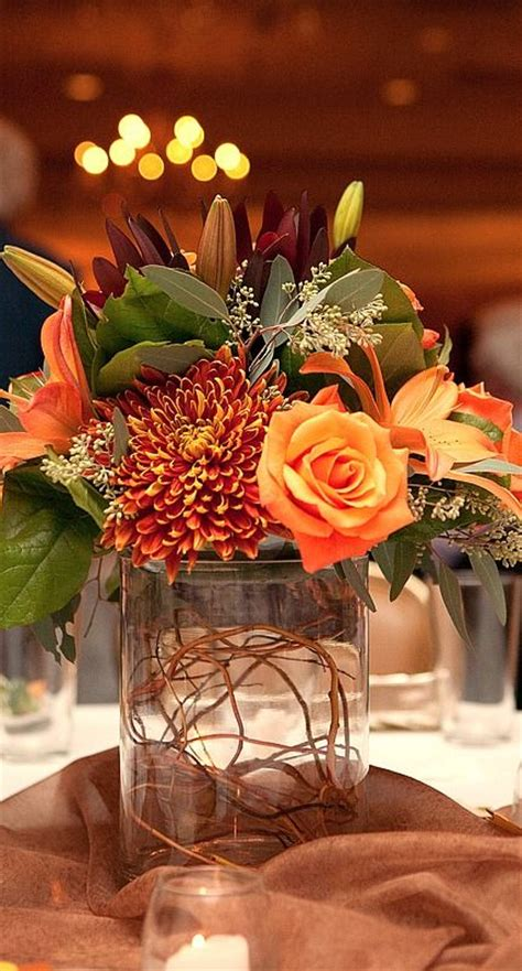 fall centerpieces fall centerpiece autumn pinterest