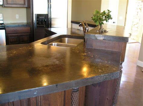 concrete countertops concrete countertops for the kitchen a solid surface on