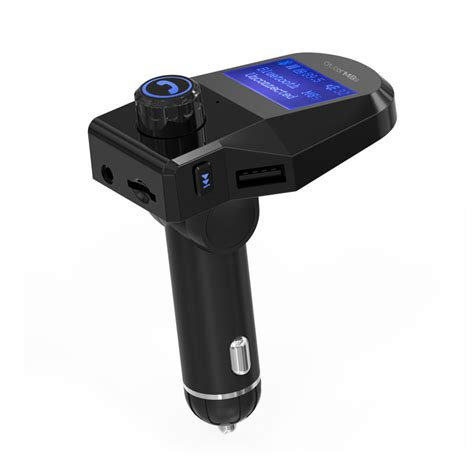 Bb102 Free Tf Card U Disk Player Car Charger 5v 2 1a m8s bluetooth car kit mp3 player fm transmitter