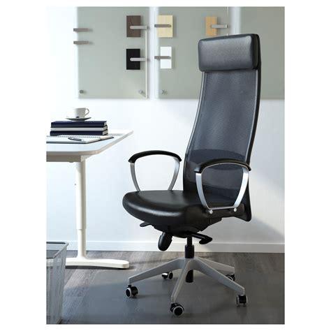 Markus Swivel Chair Glose Black Ikea Markus Swivel Chair