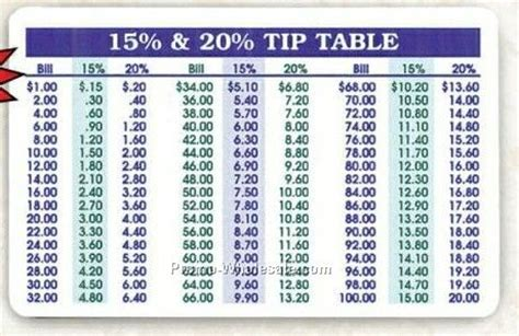 Tip The Table by Combination Tip And Calendar Card Wholesale China