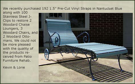 Patio Furniture Rehab Customer Responses