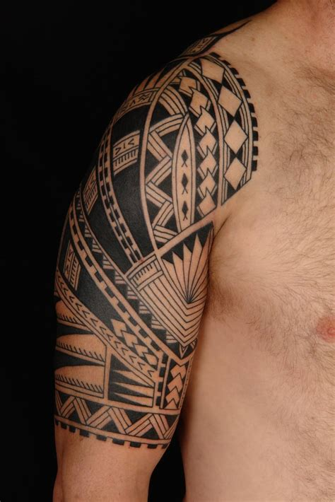 tribal half sleeve tattoos for men tribal tattoos and designs page 144