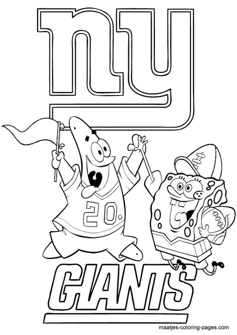 New York Giants Logo Coloring Pages Coloring Pages Ny Giants Coloring Pages