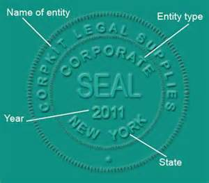 company seal template corporate seals notary seals company seal