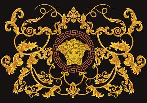 versace pattern image greek versace vector download free vector art stock
